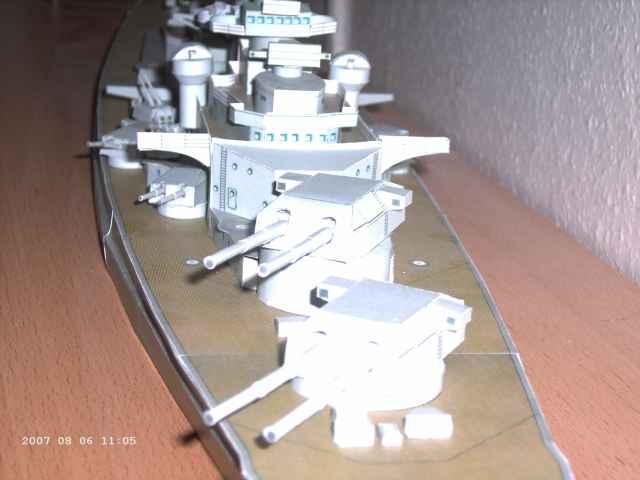 Baubericht Bismarck WHV 1/250 - Bericht von 2007 20_hal10