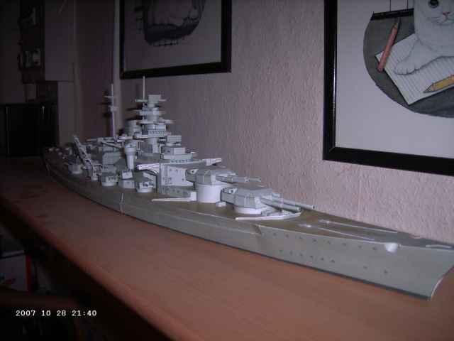 Baubericht Bismarck WHV 1/250 - Bericht von 2007 25_ges10