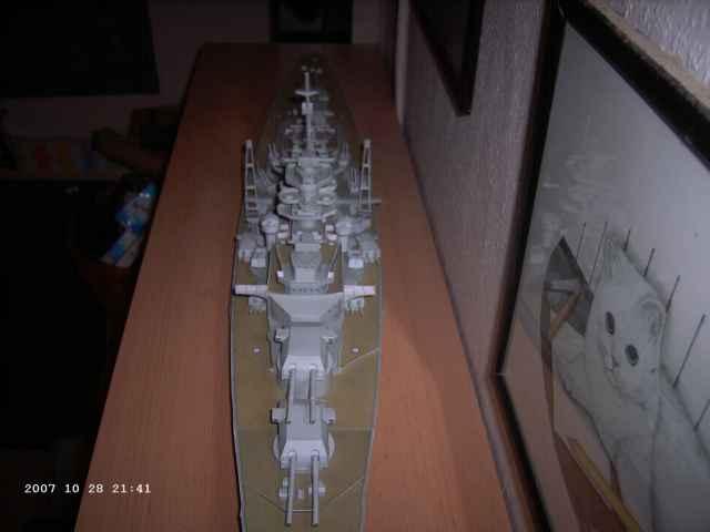 Baubericht Bismarck WHV 1/250 - Bericht von 2007 26_lan10