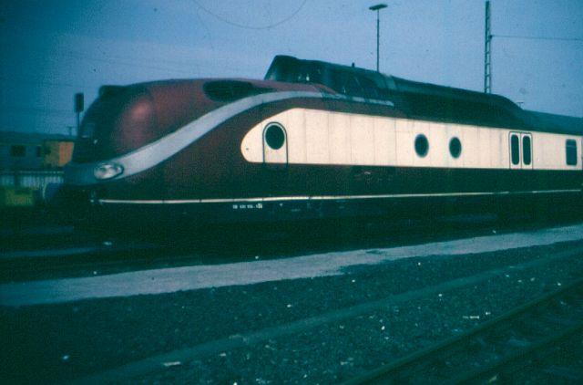 Baureihe VT11.5 = 601 DER TEE 601_0011
