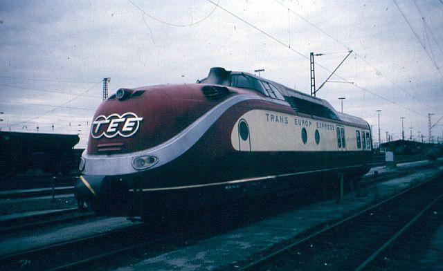 Baureihe VT11.5 = 601 DER TEE 601_0110