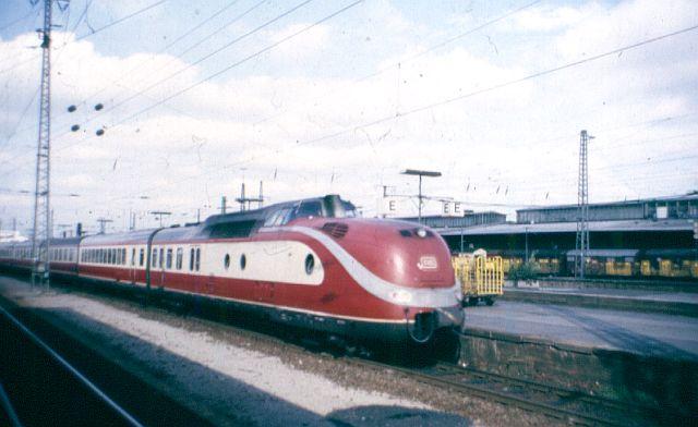 Baureihe VT11.5 = 601 DER TEE 601_0112