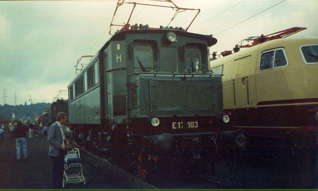 Bilder zum 150 jährigen Bahnjubiläum in Bochum Dahlhausen E17_1010