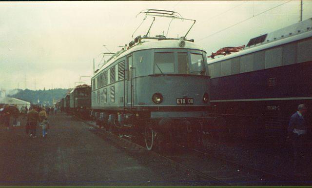Bilder zum 150 jährigen Bahnjubiläum in Bochum Dahlhausen E18_0810