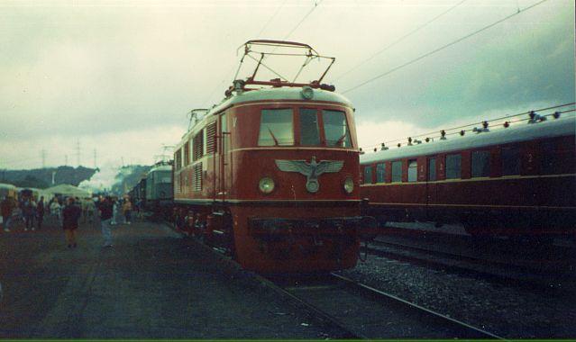Bilder zum 150 jährigen Bahnjubiläum in Bochum Dahlhausen E19_0110