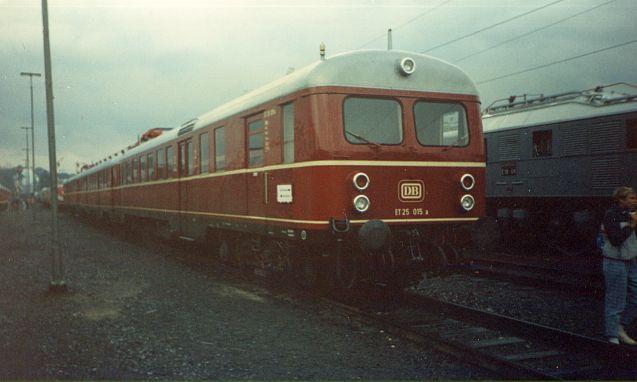 Bilder zum 150 jährigen Bahnjubiläum in Bochum Dahlhausen Et_25_10