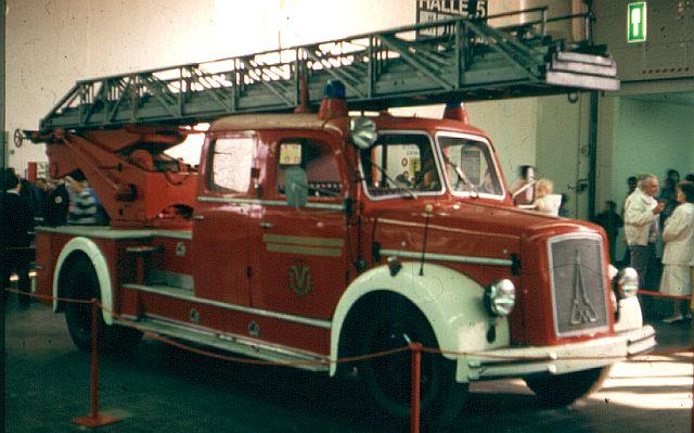Feuerwehr - Nostalgie und Vergangenes Magiru11