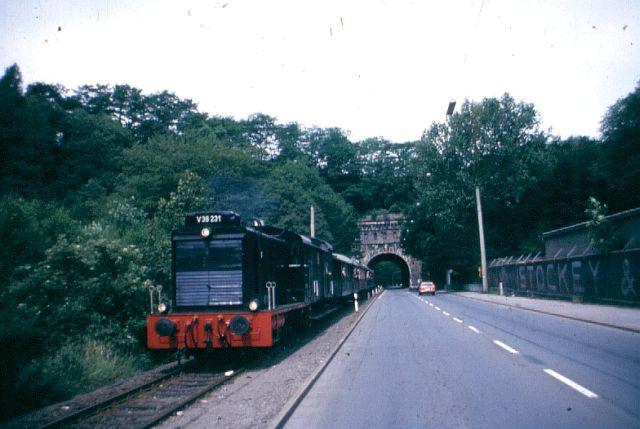 Die Diesellok der Baureihe 236 / V36 der DB - ex WR360 C14 V_36_210
