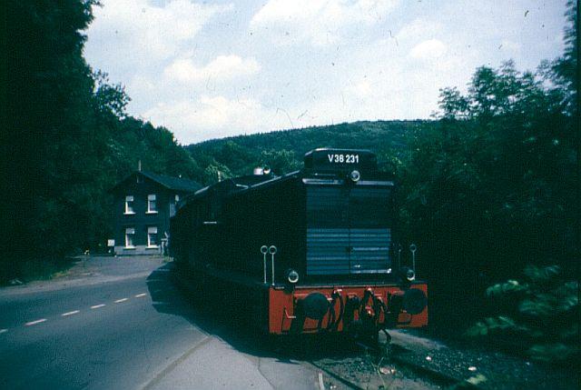 Die Diesellok der Baureihe 236 / V36 der DB - ex WR360 C14 V_36_211