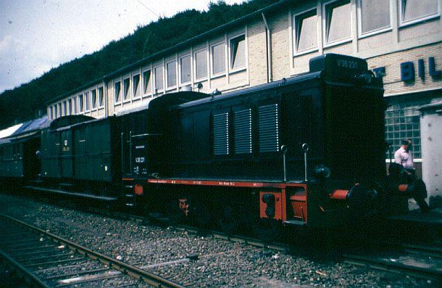 Die Diesellok der Baureihe 236 / V36 der DB - ex WR360 C14 V_36_214