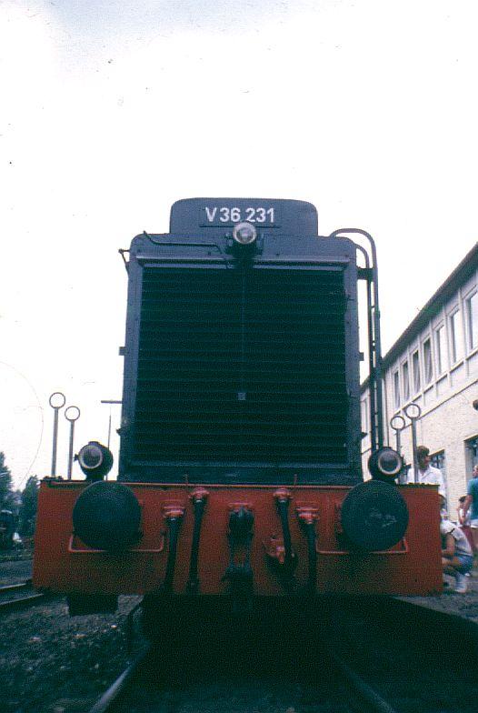 Die Diesellok der Baureihe 236 / V36 der DB - ex WR360 C14 V_36_215