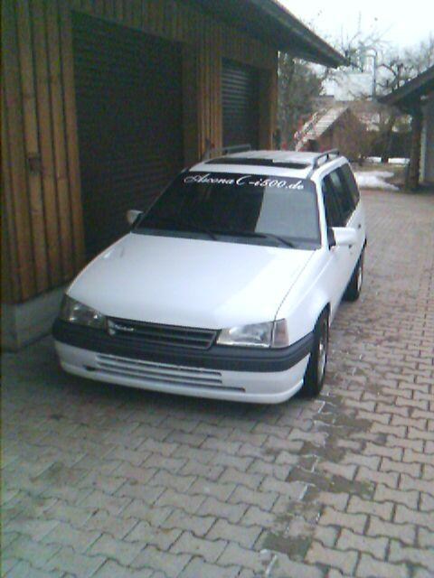 Der Opelmaus ihr alter Kaddy (Kadett E Caravan ) Image_14