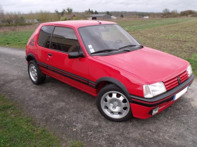 [Matpetit59] 205 GTI 1,6L 115ch rouge vallelunga 1990 Divers10
