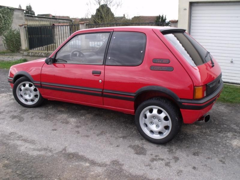 [Matpetit59] 205 GTI 1,6L 115ch rouge vallelunga 1990 Divers11
