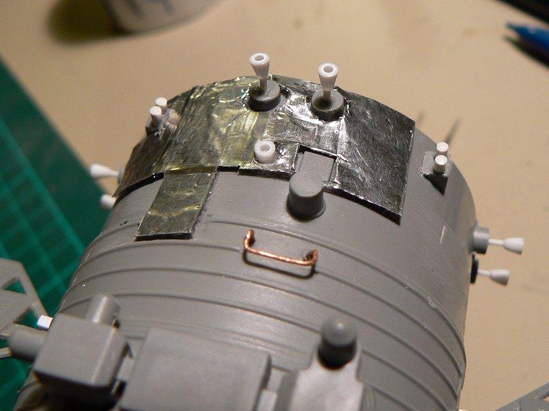 (Maquettes) Tiangong 1 - Shenzhou 9 P1220718