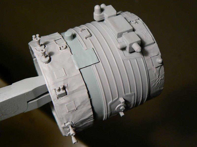 (Maquettes) Tiangong 1 - Shenzhou 9 P1220813