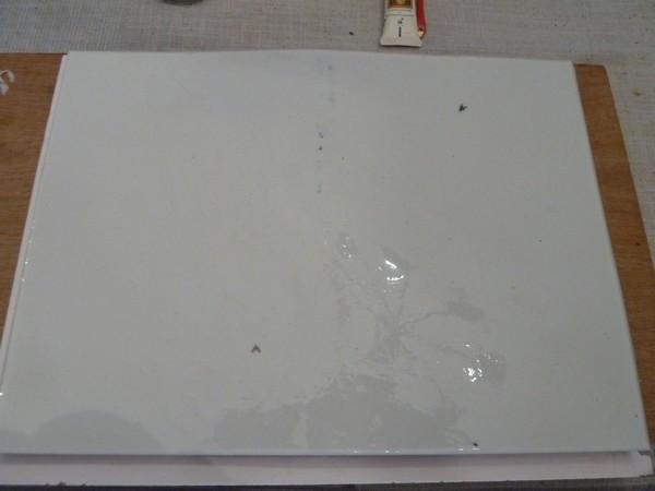Réalisation d'un moule en silicone P1100113