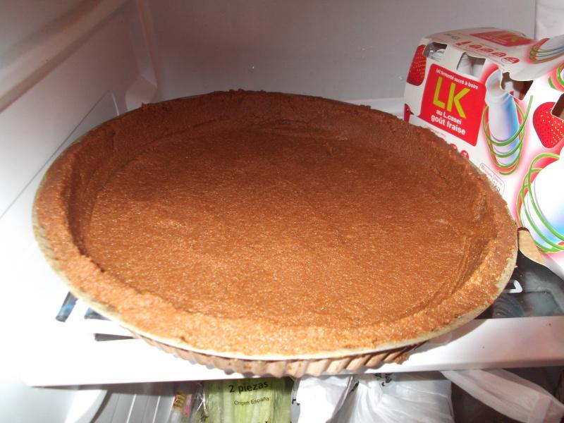 La tarte au turron Dscf0510