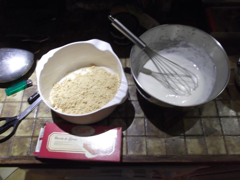 La tarte au turron Dscf0511