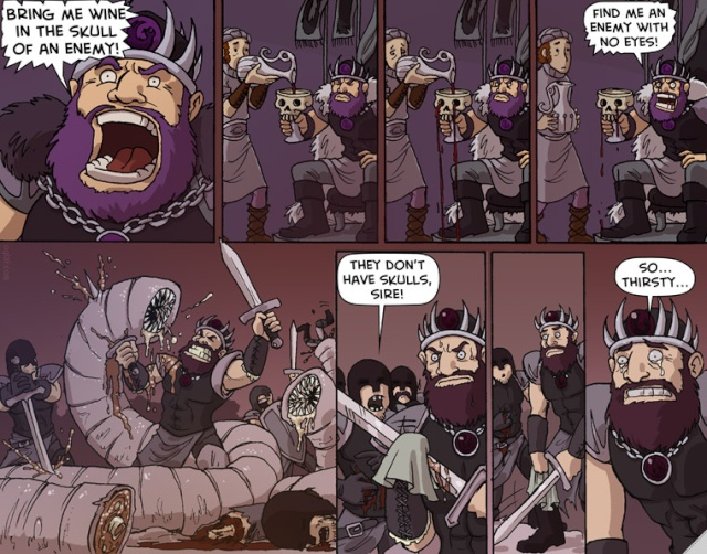 LMAO, Fantasy-style! Skulls11