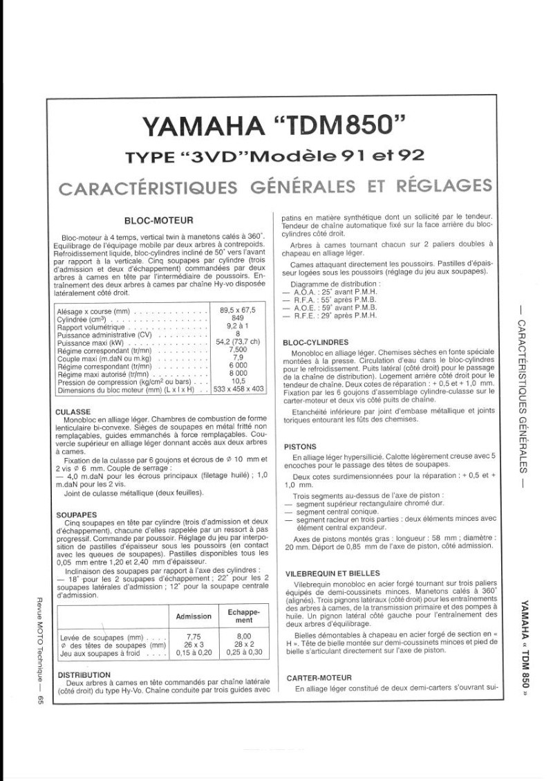 Modifs 900 XTZ  - Page 2 Tdm_3v10