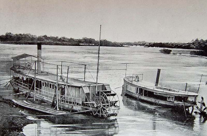 Chaloupes fluviales Indochine 115cha10