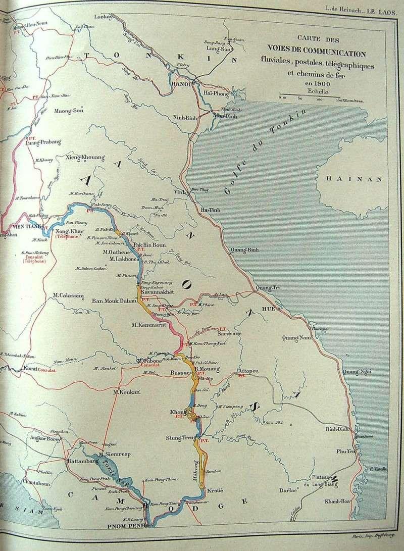 Chaloupes fluviales Indochine 125voi10