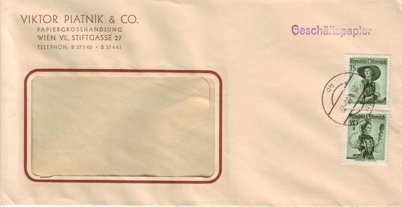 Trachtenserien ANK 887 - 923 und 1052 - 1072 Belege - Seite 2 100_ge10