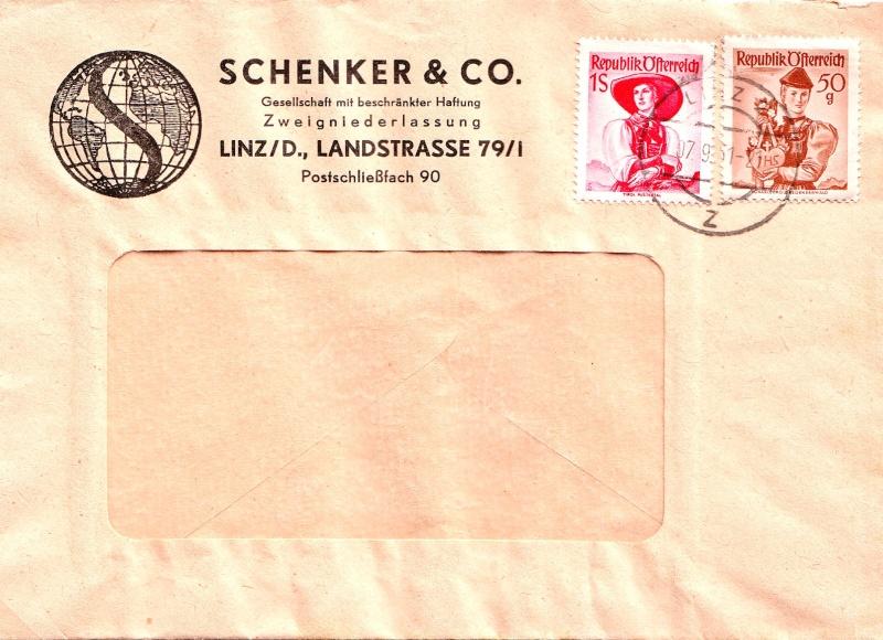 Trachtenserien ANK 887 - 923 und 1052 - 1072 Belege - Seite 3 195010
