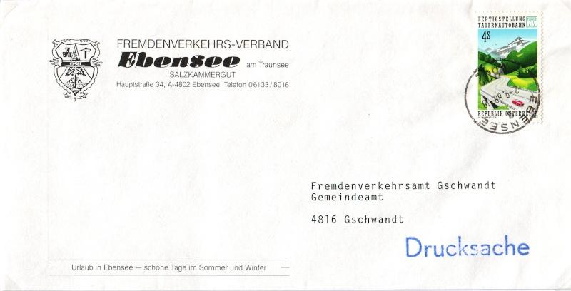 Sammlung Bedarfsbriefe Österreich ab 1945 - Seite 2 198810