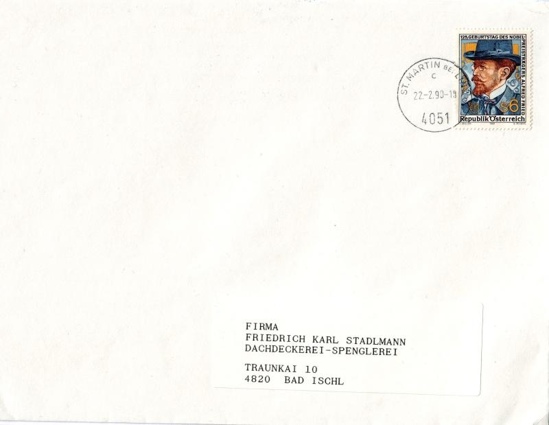 Sammlung Bedarfsbriefe Österreich ab 1945 - Seite 2 198910