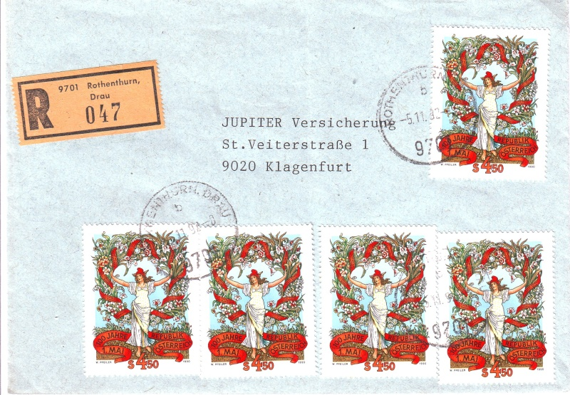 Sammlung Bedarfsbriefe Österreich ab 1945 - Seite 3 199010