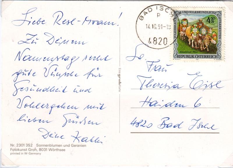 Sammlung Bedarfsbriefe Österreich ab 1945 - Seite 3 199110