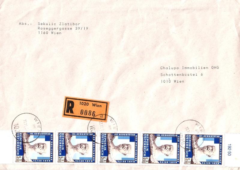 Sammlung Bedarfsbriefe Österreich ab 1945 - Seite 3 199410