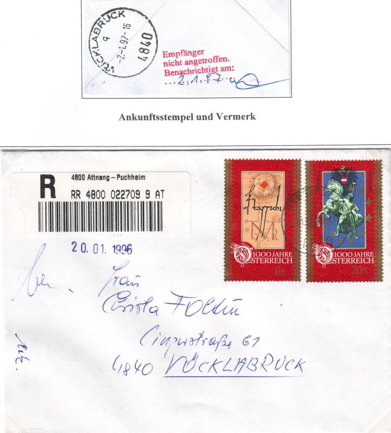 Sammlung Bedarfsbriefe Österreich ab 1945 - Seite 3 199610