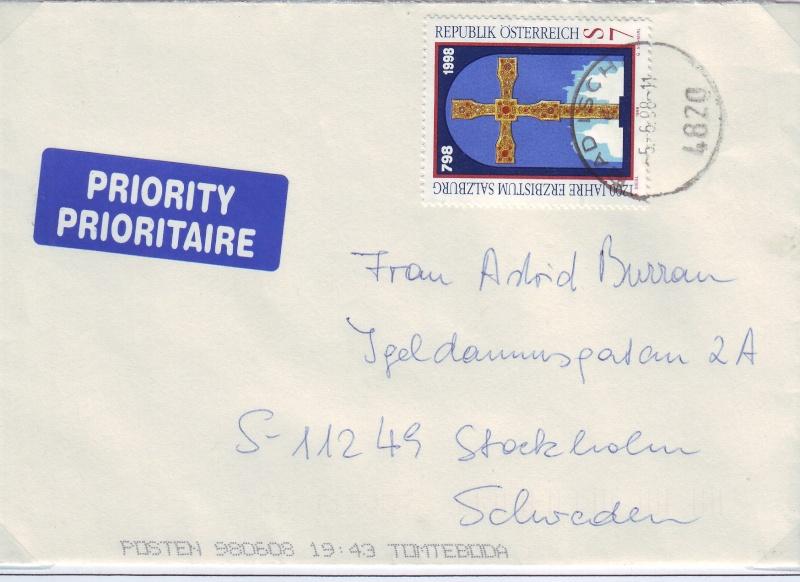 Sammlung Bedarfsbriefe Österreich ab 1945 - Seite 3 199810