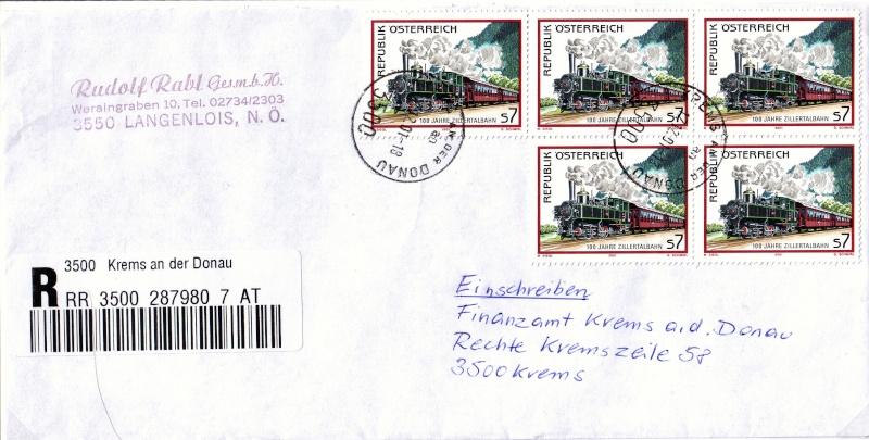 Sammlung Bedarfsbriefe Österreich ab 1945 - Seite 3 200110
