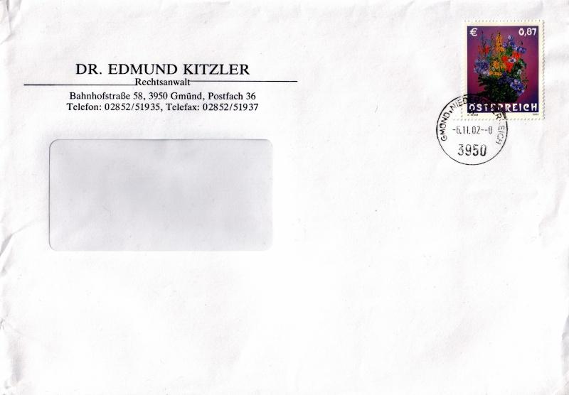 Sammlung Bedarfsbriefe Österreich ab 1945 - Seite 3 200210