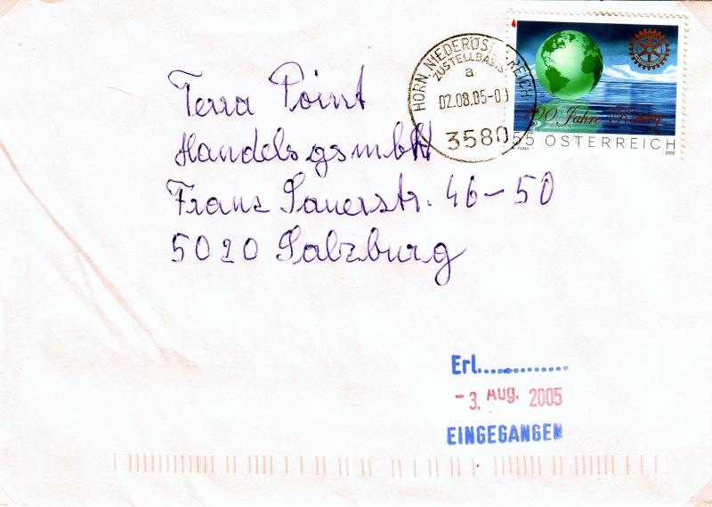 Sammlung Bedarfsbriefe Österreich ab 1945 - Seite 3 200510