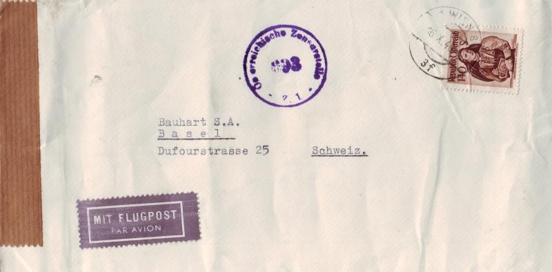 trachten - Trachtenserien ANK 887 - 923 und 1052 - 1072 Belege Tracht13