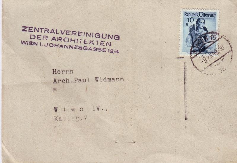 trachten - Trachtenserien ANK 887 - 923 und 1052 - 1072 Belege Tracht14