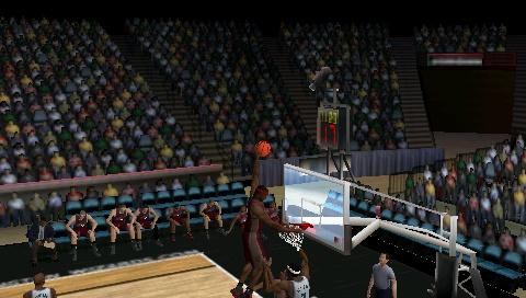 Funny dunk glitch in NBA 2K10 Snap0014