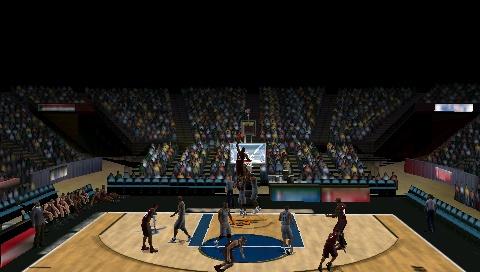 Funny dunk glitch in NBA 2K10 Snap0015
