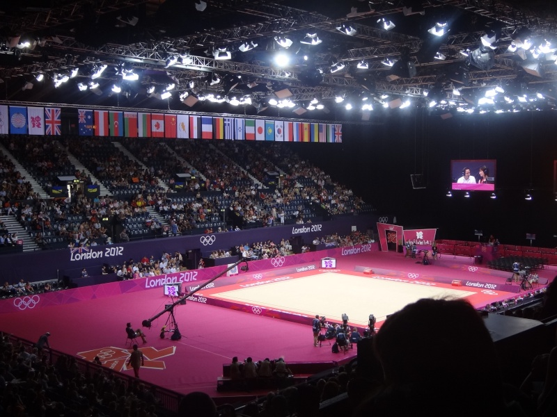 Photo du gymnase olympique de Londres Dsc01710