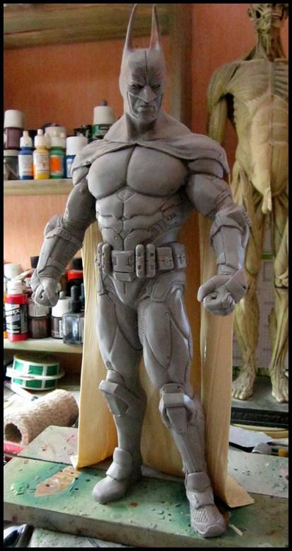 Batman Arkham asylum armored version Wip_1010