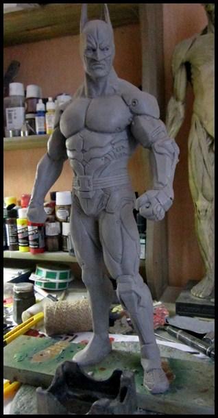 Batman Arkham asylum armored version Wip_610