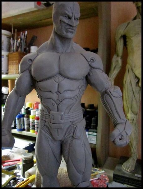 Batman Arkham asylum armored version Wip_710