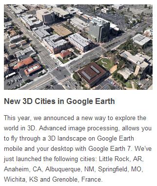 Google earth 7 et son nouveau mode 3D 0110