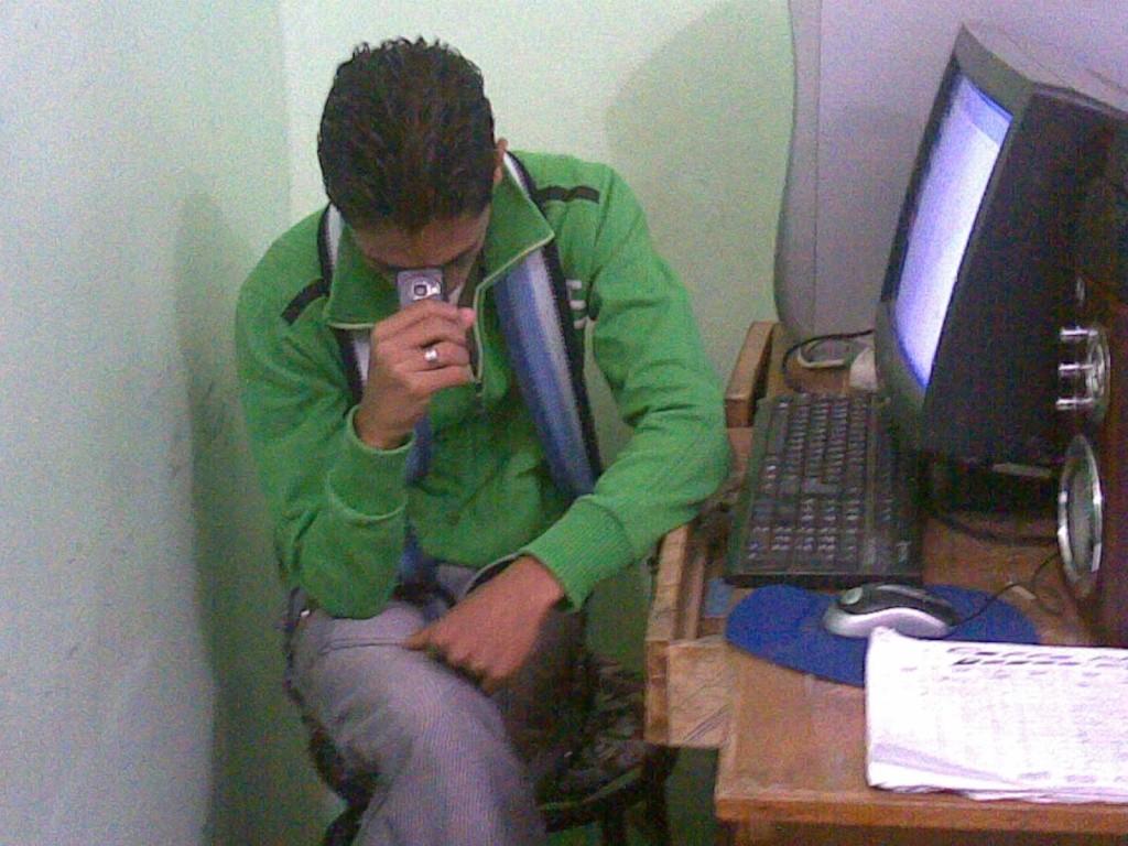 محمد عامر يتمنى لكم قضاء وقت ممتع فى(k7rtaa)