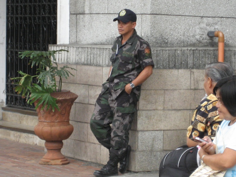 Police Camo Uniform in Action Img_5210